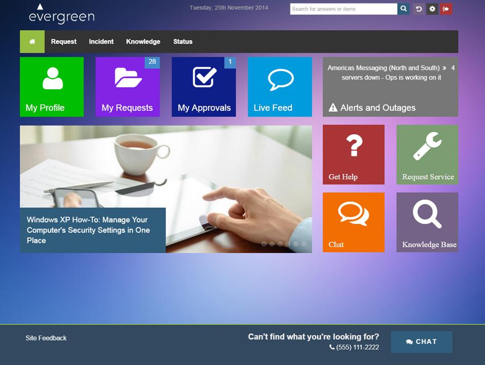 Employee Self Service Portal And Catalog